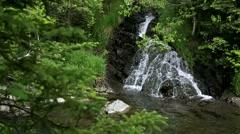Slow Waterfall Stock Footage