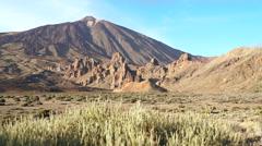 Tenerife, Pico del Teide Stock Footage