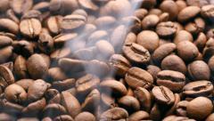 Roasting Coffee Beans. UHD, 4K Stock Footage