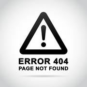 page not found background - stock illustration