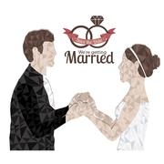 Married Design - stock illustration