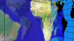 News-media topics Broadcast. Loop able media background. Colors give the Earth. Stock Footage