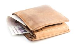 wallet - stock photo