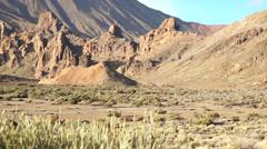 Teide stones Stock Footage