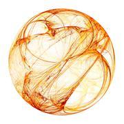 plasma sphere - stock illustration