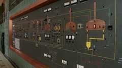 Beer Kettle Control Panel Stock Footage