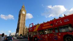 Big Ben London  UK England Stock Footage