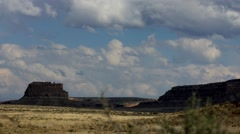 Chaco Canyon time lapse 2 at 29.9fps Stock Footage