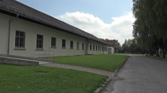 Dachau Concentration Camp main bunker camp prison 4K 002 Stock Footage