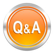 Stock Illustration of question answer icon.
