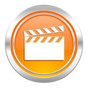 Video icon, cinema sign. Piirros