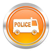 police icon. - stock illustration