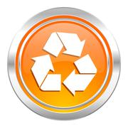 Recycle icon, recycling sign. Piirros