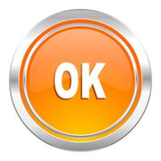 Stock Illustration of ok icon.