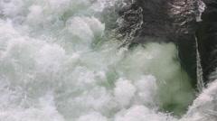 Water Foam Brook Stock Footage