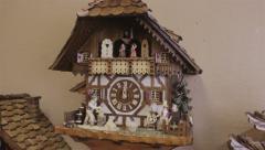 Cuckoo Clock Stock Footage