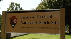 James A. Garfield House National Historic Site Stock Footage