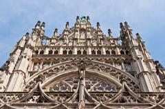 Beautiful Gothic style cathedral in Den Bosch, Netherlands - stock photo