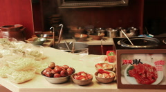 Fenghuang City Food Stock Footage