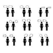 couple design over white background vector illustration - stock illustration