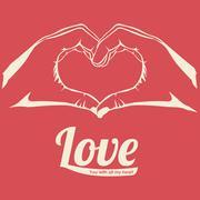 Love Vector illustration Stock Illustration
