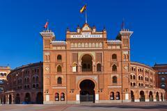 Bullfighting arena in madrid spain Stock Photos