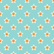 Retro texture with stars Stock Illustration