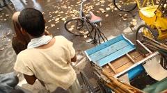 Stock Video Footage of Rickshaw
