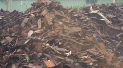 Magnet excavator Stock Footage