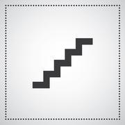 Staircase symbol Stock Illustration