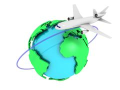 Global airlines Stock Photos