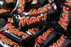 mars minis candy bars - stock photo