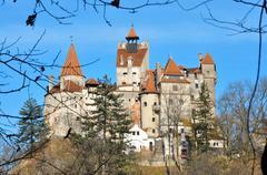 bran castle - stock photo