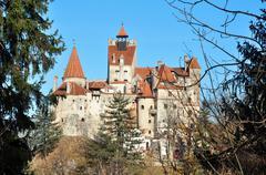 Bran castle Stock Photos