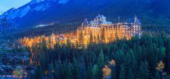 Fairmont Banff Springs Hotel Stock Photos