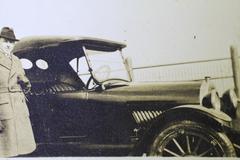Man and his new car Stock Photos