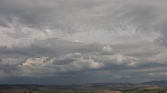 S Quirico cloudy new.mp4 Stock Footage