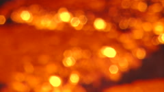 Iron and Steel Works. Pouring of molten iron. HDV to HD Stock Footage