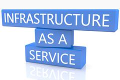 Infrastructure as a service Stock Illustration