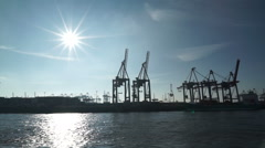 Habor Docks Stock Footage