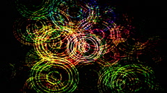 abstract light pattern computer generated technology background - stock footage