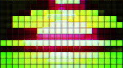 Stock Video Footage of abstract music graphic equalise computer generated technology
