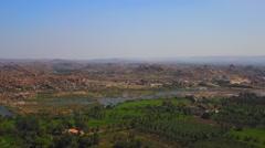 Zoom to Vittala Temple Stock Footage