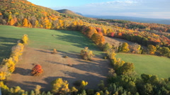 Stock Video Footage of Hudson Valley 4K Aerials