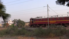 Goods Train Stock Footage