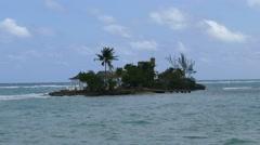 Caribbean island, shot in 4K Stock Footage