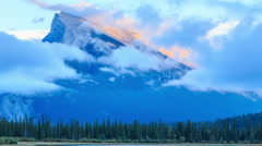 Canadian Rockies Stock Footage