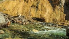 Johnston Canyon Stock Footage