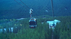 Banff Gondola - stock footage