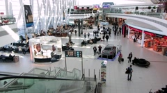 Budapest Airport, Hungary Stock Footage